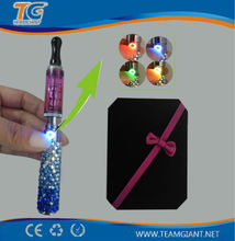 Hottest selling USA/UK/France /Japan bling ego T e cig China wholesale electronic cigarette