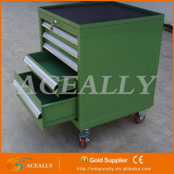 storage metal rolling files tool box cabinet with wheels