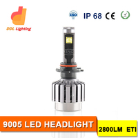 Top quality H11 LED aftermarket headlights H11HB3 CAR HEAD LIGHT H10 9005 LED CAR LED LIGHT BULB for all cars