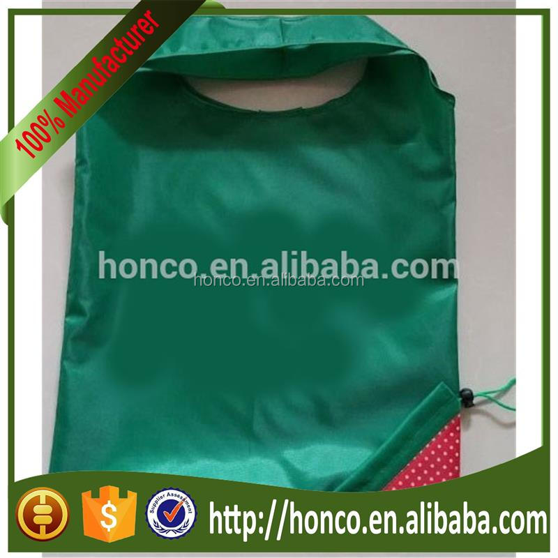 Promotion 190T polyester reusable foldable shopping bag