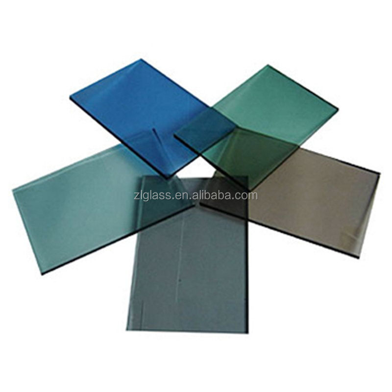 Color reflective glass multiple size, Green glass photo frames laminated, Glass frame for home decoration
