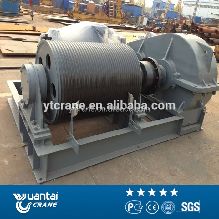 Yuantai Brand double drum winch for sale