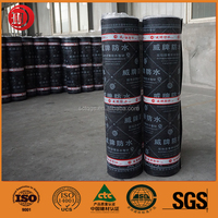 self-adhesive modified asphalt sbs/app waterproof felt roll sheet 4mm