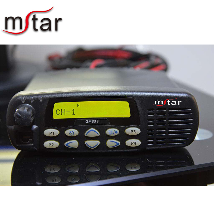 Strong stability and high performance MSTAR GM338 on-board intercom