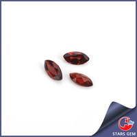 2*4mm marquise shape gemstone natural garnet stone for jewelry