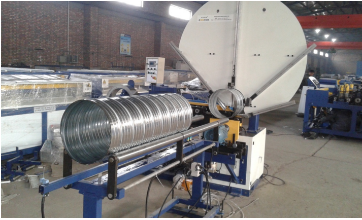 Cheap price quality round duct hvac spiral duct bending machine for sale