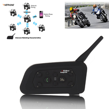 Factory Cheap V6-1200m full duplex wireless motorcycle helmet V6-1200m intercom