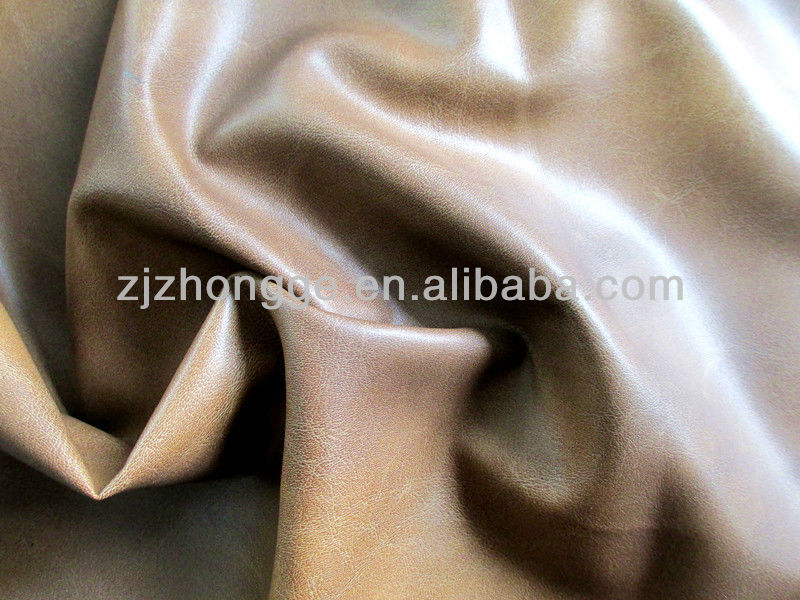 PU leather brown sofa leather/furniture leather/upholstery leather camical fabric