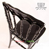 Black Wedding Napoleon Chair