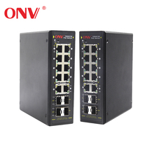 10+4 port Managed POE+ Industrial Ethernet Switch10-Port 10/100/1000Base-T + 4 (100/1000M) SFP L2 Plus Managed POE+ Switch