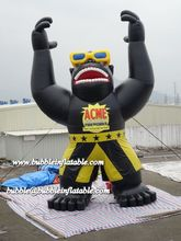commercial inflatable gorilla for advertising/inflatable gorilla model