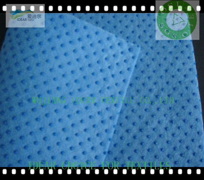 Anti-slip TC fabric for Plastic Drop Cloth