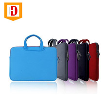 Shenzhen Custom Neoprene Waterproof Laptop Sleeve 15 Inch 15 Neoprene Laptop Sleeve With Handle