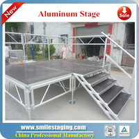 used mobile plywood aluminum stage risers how to make a portable stage