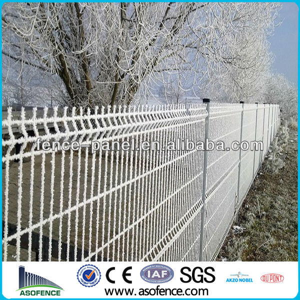 galvanized 3D fold wire mesh fencing/garden fence