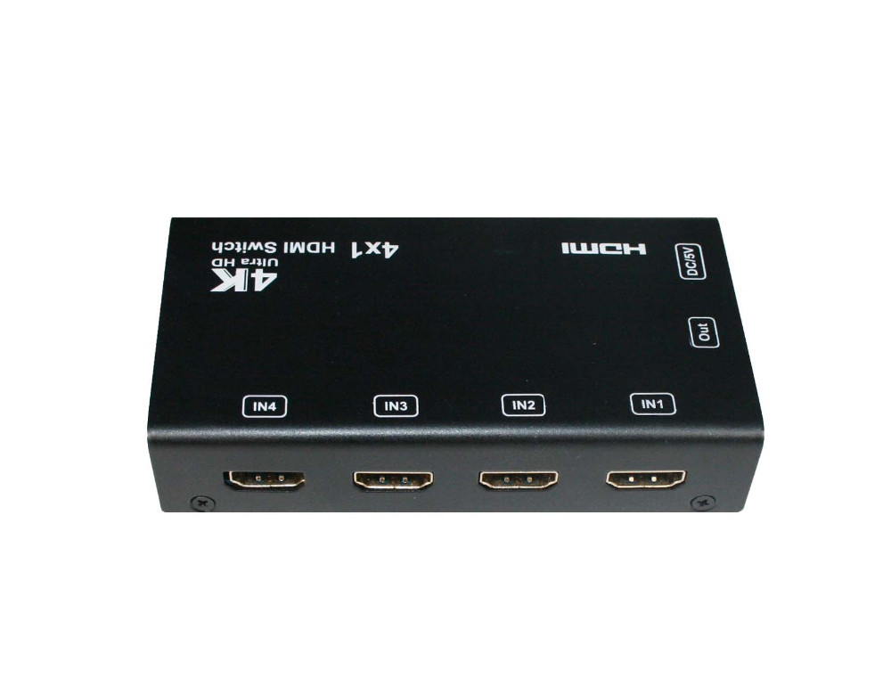 SX-SW441-HD4K2K HDMI 1.4 Ultra HD 4k2k Switch With PIP Preview Video Screen