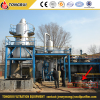 Newest type complete equipment lube oil filtration system