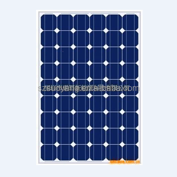 280W monocrystalline solar panel with high efficiency