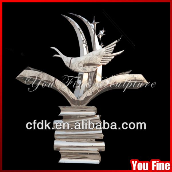 Outdoor Garden Famous Metal Art Sculpture Abstract