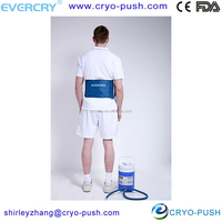 EVERCRYO smart pressure therapy system cold wrap bone fracture ease pain FOR BACK