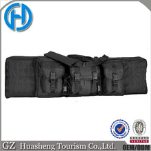 "Tactical Military Gun Case Double Gun Bag Padded Shoulder Strap 36"" rifle bag"