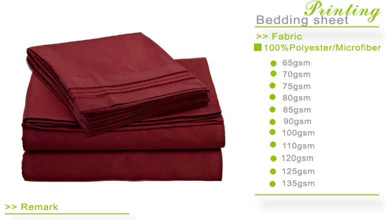 1800 Thread count 4 piece deep pocket sheet sets