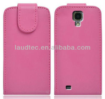 2013 New Arrival Flip Leather Case for Samsung Galaxy S4 S IV Newest Flip Cover,Laudtec
