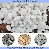 white and grey external hard marble chips 3mm