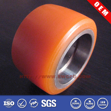 Roller polyurethane sleeves with bearings