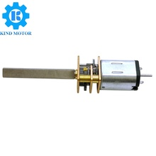 <strong>10</strong>:1 Micro Metal Gearmotor LP 6V with Extended Motor Shaft