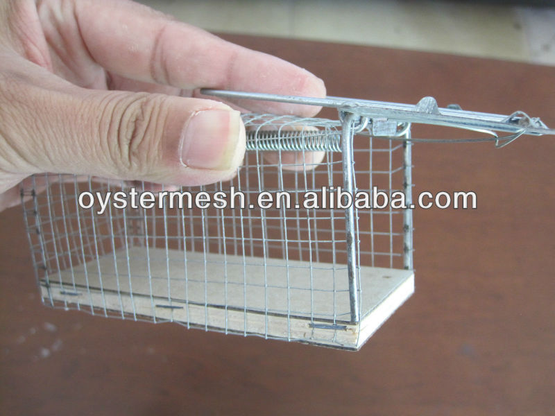 Trap Cage for catcing mouse; Mouse Trap Cage;Rat Trap Cage