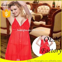 Custom romantic babydoll indian lingerie models