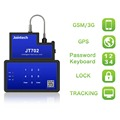 GPS container E-lock with real time cable cut alert for high value cargo transportation monitoring