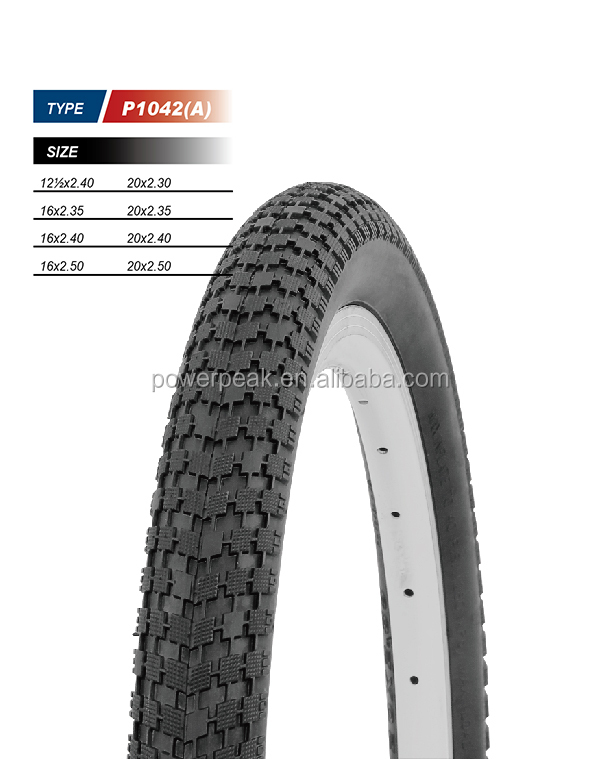 bike parts bicycle tires size 16x2.50