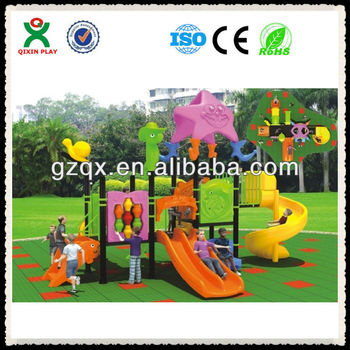 Preschool modern natural amusement park equipment