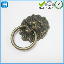 Wholesale Antique Lions Head Brass Pull Metal Cabinet Knobs Handles