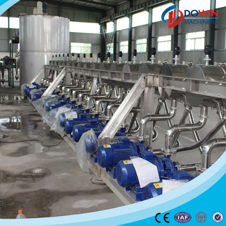 5 TPD industrial food processing equipment for cassava starch
