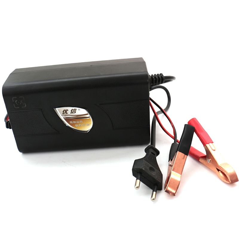 wholesale battery car ac 220v 50hz intelligent lead acid battery charger