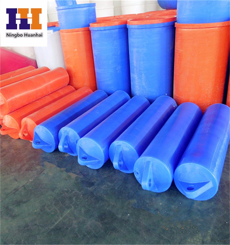 Hdpe Plastic Discharge Line Pipe Floater With Marker Buoys