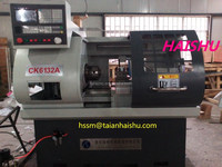 machinery tool CK6132A mechanical tools names and desktop lathe from taian Haishu