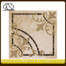 100% Natural High Grade Material Marble Waterjet Medallion