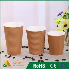 Cheapest coffee paper cup designs, portable real cup coffee, nice delicate coffee paper cup