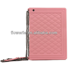 FL3368 2014 China manufacturer handbag style soft silione rubber case cover for ipad 2 case