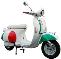 china EEC retro classic electric Vespa vintage retro classic italy electric scooter with top box range 90km 2000W 60V