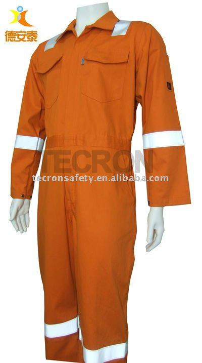 fire retardant antistatic workwear coverall shirt trousers
