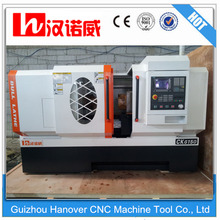 CK6150 flat bed cnc lathe machine price/Horizontal Turning Center low operating cost 520mm swing diameter 1000mm turning length