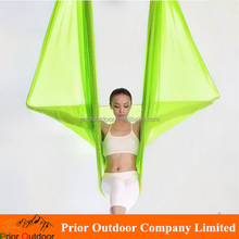 Wholesale High Strength 900KGS Capacity Stretch hot sale cheap aerial yoga hammock(see 18 colours)