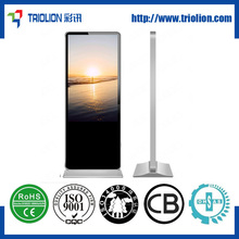58 inch ir touch screen free standing remote digital digital signage