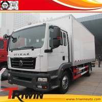 chinese famous brand 4x2 6-wheel drive new condition diesel engine 132KW 180hp 3 ton 4 ton 5 ton euro4 light cargo lorry van
