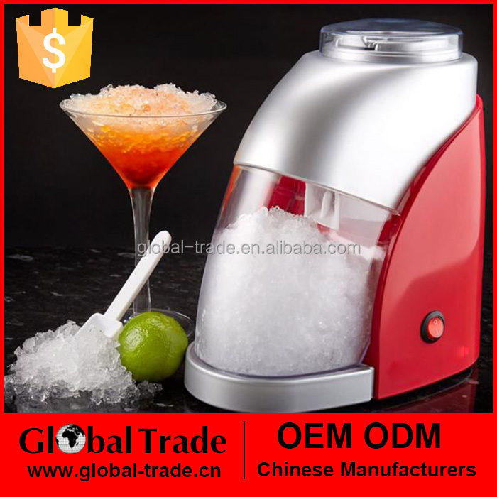 Home Heavy Duty Ice Crusher Countertop Electric Stainless Steel Ice Shaver Crusher H0110